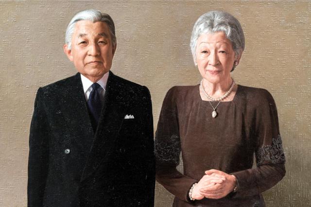 天皇夫婦照片