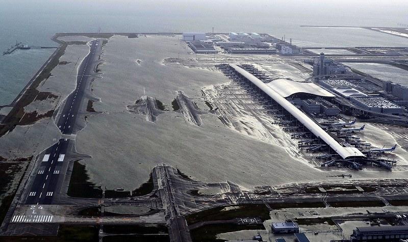 機場損壞示意圖